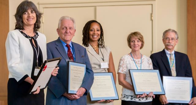 2014 and 2015 Faculty Mentoring Awards Winners